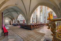 Hlavní znojemský kostel sv. Mikuláše uchovává důstojnost a krásu staletí.