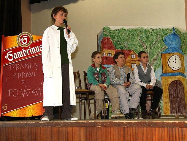 Prosiměřický sál patřil dětským hercům