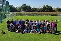 Oslava založení padesáti let FC Mramotice proběhla poslední zářijovou sobotu v přátelském duchu. Mezi sebou poměřili síly staré gardy tamějšího klubu.