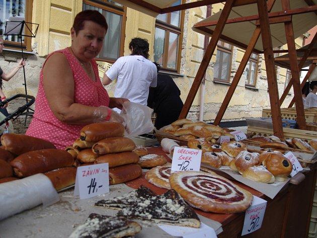 Slavnosti chleba ve Slupu.