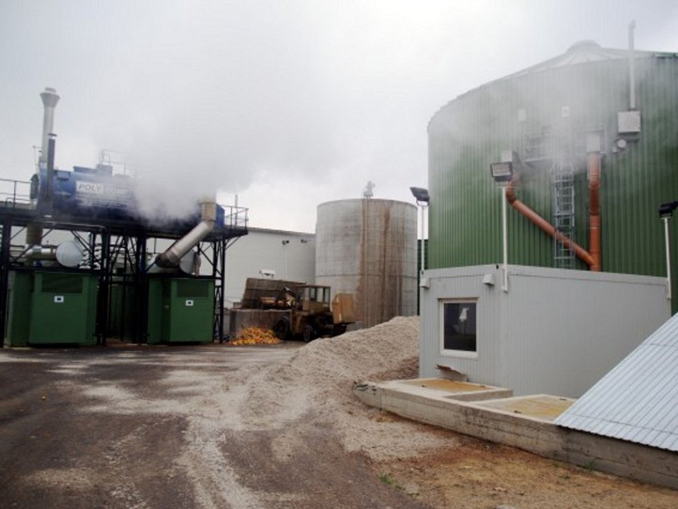 Bioplynová stanice ve Velkém Karlově