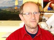 Jaroslav Šmerda působí v Jihomoravském muzeu ve Znojmě 36 let. Horniny a minerály přibližuje lidem poutavou formou