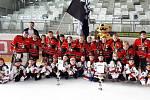 Celek U8 hokejových Orlů uzavřel sezonu prvním postem na vídeňském Kids Cupu. Ve finále zdolal Graz 4:1.