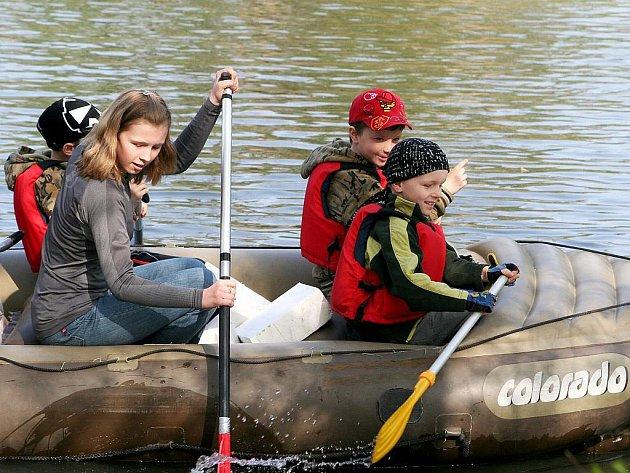 Poslední dubnovou sobotu zahájili znojemští vodáci letošní sezonu.