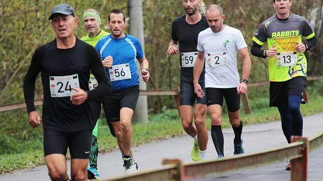 Avanti běh Podyjím v Lukově na Znojemsku zaběhl nejrychleji brněnský běžec Lukáš Soural.