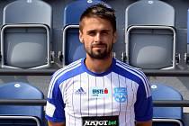 Fotbalista Oldřich Kostorek.