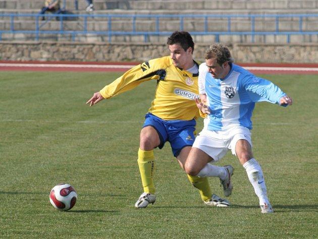 Matúš Minarechv utkání proti Břeclavi