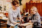 Spolek jaroslavických maminek Jarmínek připravil pro děti a rodiče první Budkování.