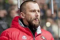 Nyní už bývalý trenér Orlů Znojmo Roman Šimíček.