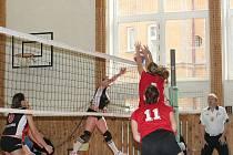 Extraligové juniorky mají za sebou další utkání v nejvyšší volejbalové soutěži u nás. Tentokrát při dohrávce prvního kola narazily na jednoho z nejtěžších soupeřek, Olymp Praha.