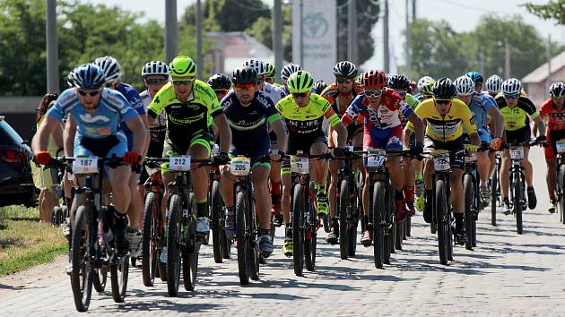 Cyklistům přesunuli Vinařskou 50. Pojedou ji v srpnu