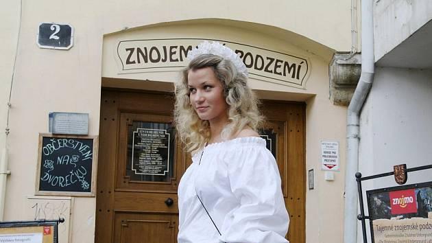 Studentka znojemského Gymnázia Kristýna Rivolová.