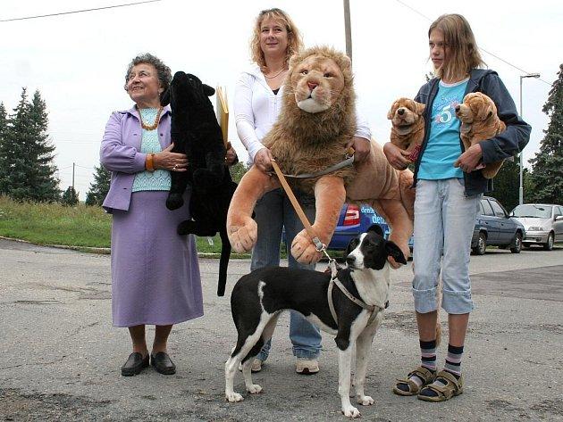Předávání cen vítězům soutěže O nejhezčí zvířecí příběh.
