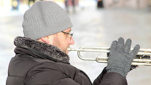 Mrznoucím jazzem pokračoval v sobotu JazzFest Znojmo.