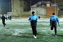 Hráči 1. SC Znojmo se v úterý sešli na úvodním tréninku zimní přípravy pro druhou polovinu sezony.