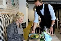 Své první hosty přivítala obsluha bistra Chez Martine ve Znojmě.