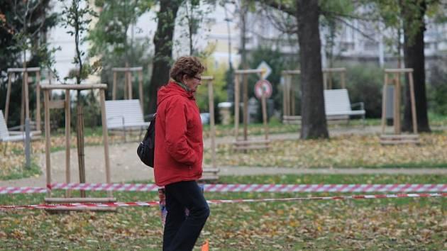 Dolní park ve Znojmě. Ilustrační foto.