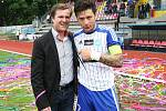 Fotbalový sen se splnil nejen hráčům 1.SC Znojmo, ale hlavně jejich fanouškům. Sobotní zápas potvrdil tolik očekávaný postup Znojma do první ligy.