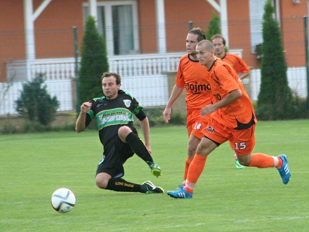 Fotbalisté IE Znojmo nestačili na domácím hřišti na Bzenec v poměru 1:5.