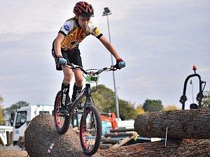 Biketrialista Vymětal úspěšně uzavřel sezonu. Stal se republikovým mistrem