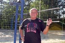 Bývalý znojemský volejbalový trenér Bohumír Bílek.