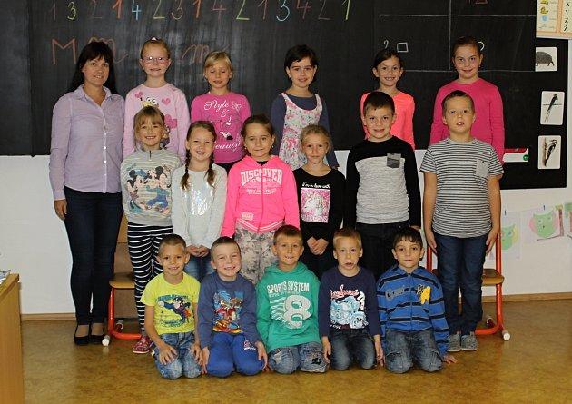 Děti z1.C ve znojemské ZŠ Mládeže učí paní učitelka Šárka Forejtová.
