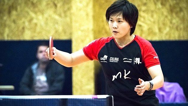 Už druhou sezonu hájí barvy extraligového týmu Moravský Krumlov - Řeznovice japonská stolní tenistka Mitsuki Yoshida
