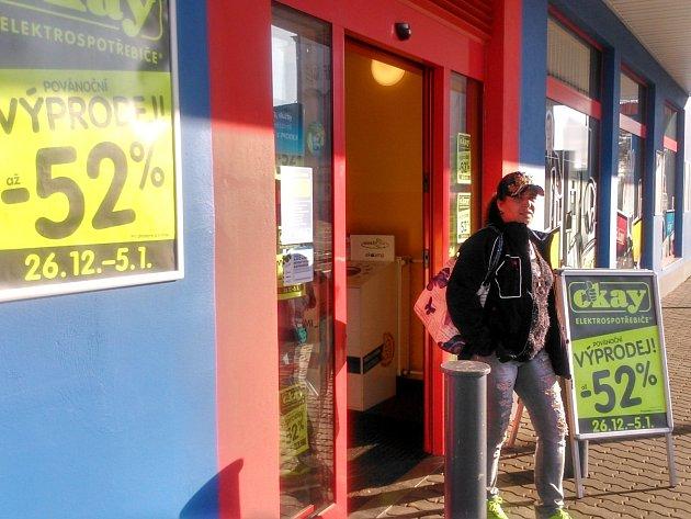 Na výrazné slevy láká už od 26. prosince také prodejna elektroniky ve Znojmě.