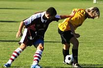Zkušeného soupeře Sokol Konice (ve žlutém) porazili tasovičtí  3:2.
