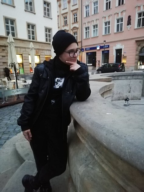 Toby Švédů ze Znojemska se narodil jako dívka. Je transmužem, prochází změnou pohlaví. Před sebou má ještě jednu operaci. Foto: Archiv Tobyho Švédů