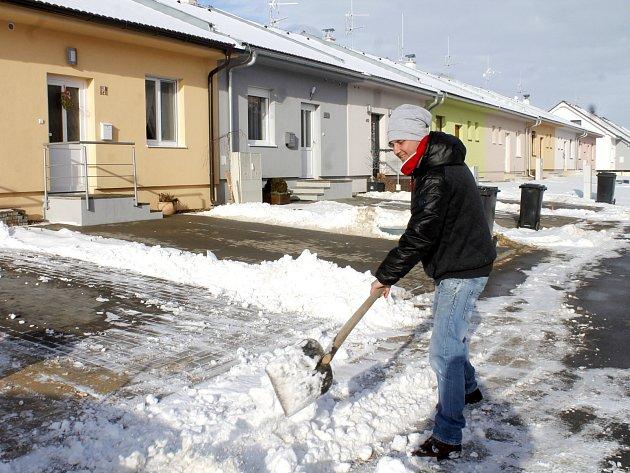 Desítky nových domů vyrostly v Suchohrdlech u Znojma. Lidé to odtud mají do Znojma jen pět minut autem.