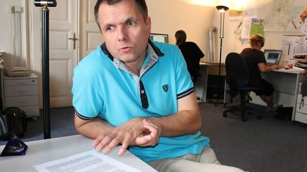 Jaroslav Šufajzl je jedním ze třinácti účastníků znojemského Barcampu.