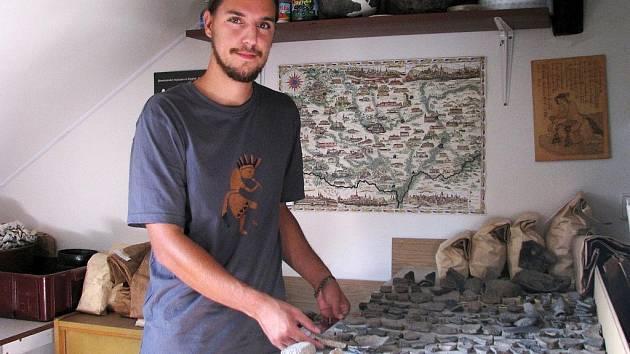 David Humpola, nový šéf znojemské pobočky Ústavu archeologické památkové péče