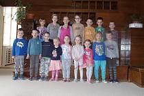 Děti z MŠ Rudoleckého ve Znojmě, třída Koťátka