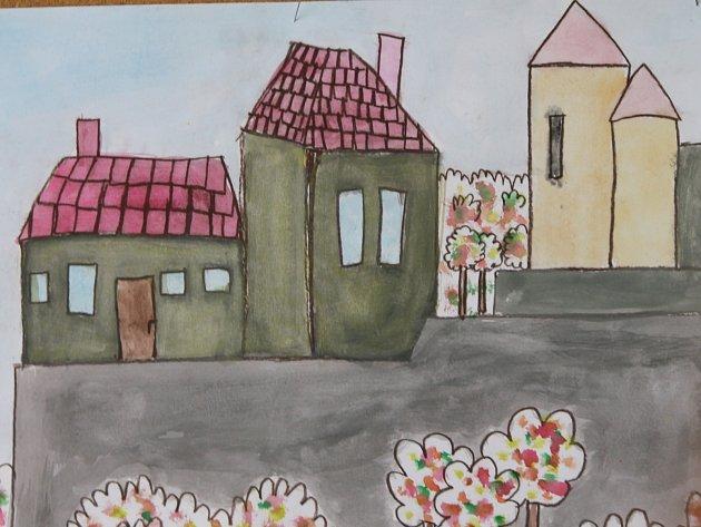 Výkresy dětí ze znojemských základních škol, které se zapojily do třetího ročníku výtvarné soutěže Znojmo mýma očima mohou zájemci zhlédnout ještě do devátého dubna v prvním patře galerie na náměstí Armády č. 8.