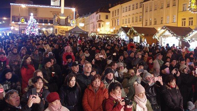 Česko zpívá koledy 2019 na Znojemsku