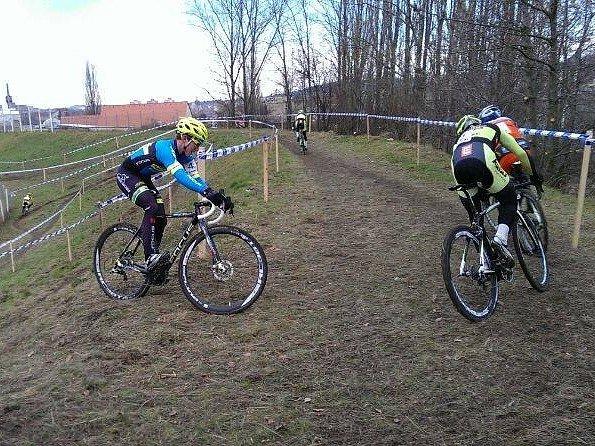 Cyklista Vojtěch Nipl při závodě TOI TOI Cup.