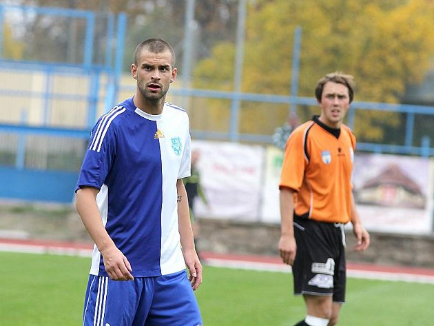 Fotbalista Václav Vašíček.