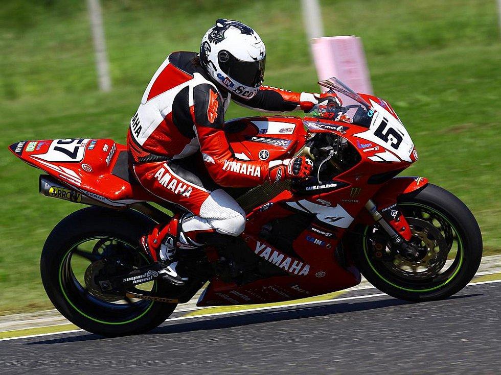 Znojemský motocyklový závodník Zdeněk Brabec.