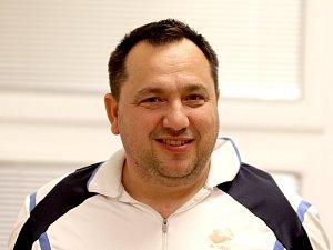 Předseda a hráč znojemských korfbalistů Aladár Dančo.