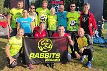 Běžci Rabbits Znojmo absolvovali i etapový závod Vltava Run 2021.