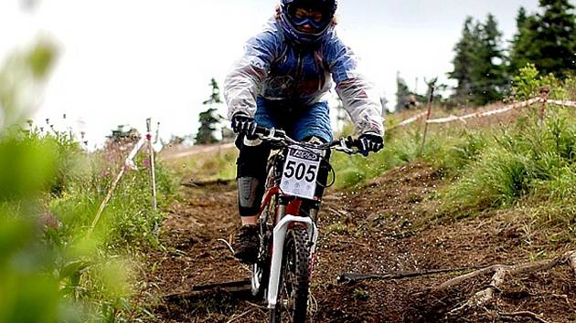 Biker Richard Sýkora.