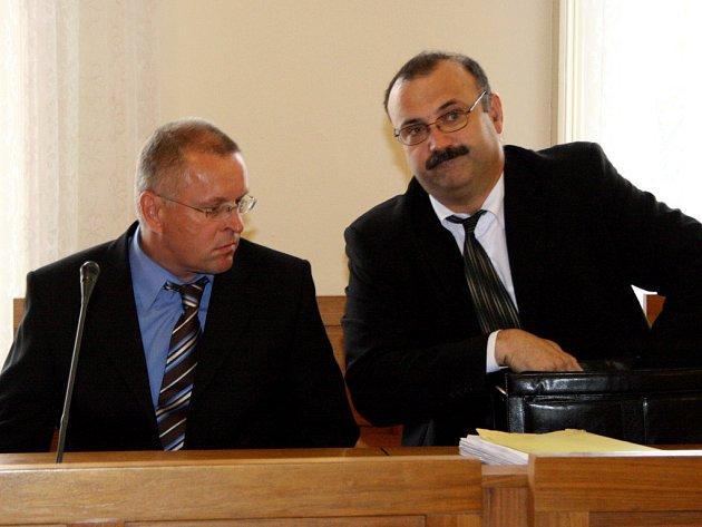 Pavel Holcmann před brněnským soudem