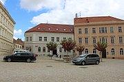 Evropská unie ve Znojmě přispěla například na rekonstrukci Horního a Václavského náměstí a ulic Přemyslovců a Vlkova. Na snímku Václavské náměstí.