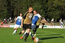 Znojemští fotbalisté si komplikují postup do 1. ligy.