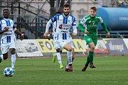 Druholigoví fotbalisté Znojma sehráli v pátek utkání 22. kola Fortuna:Národní ligy proti Vlašimi.