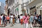 Hudbou v ulicích odstartoval v pátek ve Znojmě sedmnáctidenní hudební maraton.