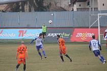 Fotbalisté Znojma podlehli Olomouci 1:2 a prodloužili domácí negativní bilanci.