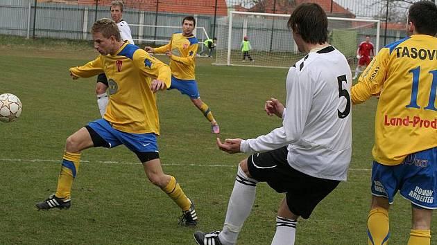 Fotbalisté Tasovic - ilustrační fotografie.