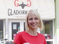 Desítky dětí přilákala ke sportování nabídka největšího znojemského fitness centra Gladork Gym, které vede Karolína Křížova.